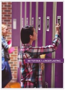 Elite brochure locker