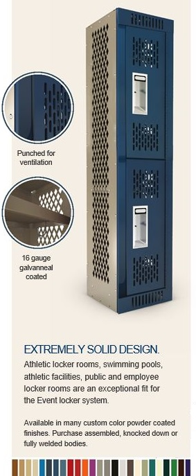 Event individual locker